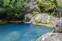 Красивый водопад Стоковое Фото