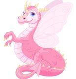 Красивый волшебный дракон Стоковые Изображения