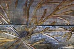 Красивый высекать на древесине, текстура темной древесины стоковая фотография rf