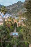 Красивый голубой medina города Chefchaouen в Марокко, Африке Стоковое Фото