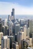 Красивый горизонт Чикаго, Иллинойса Стоковые Фото