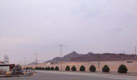Красивый горный вид в Саудовской Аравии стоковая фотография rf