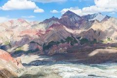 Красивый горный вид в области Памира Стоковое фото RF