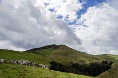 Красивый горный вид Стоковое Изображение RF