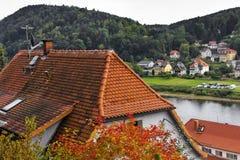 Красивый город в Европе Стоковое Фото