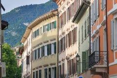 Красивый город Trento, Италии Стоковые Фотографии RF
