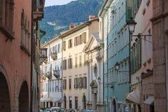 Красивый город Trento, Италии Стоковые Изображения