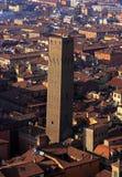 Красивый город болонья, Италии сверху Стоковое фото RF