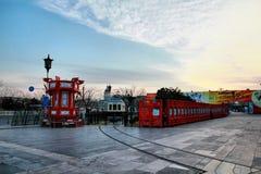 красивый городок в фарфоре Стоковые Фото