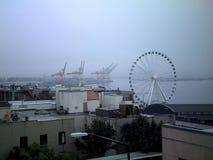 Красивый городской Сиэтл Вашингтон стоковое фото