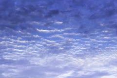 Красивый голубого неба и облаков стоковые изображения