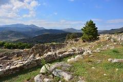 Красивый греческий ландшафт, Греция стоковое фото