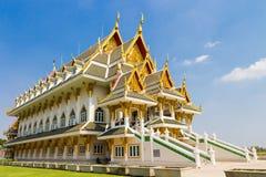 Красивый дворец на Wat Khun Inthapramun Стоковая Фотография RF