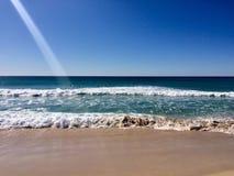 Красивый день лет на пляже Стоковая Фотография RF