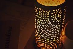 Красивый держатель для свечи стоковое фото rf