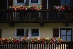 Красивый дом в деревне Brixen im Thale в Австрии Стоковое Изображение