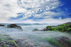 Красивый день на море Стоковая Фотография
