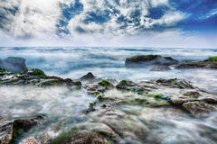 Красивый день на море Стоковая Фотография RF