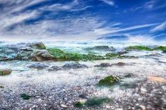 Красивый день на море Стоковое Изображение