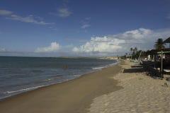 Красивый день на пляже стоковые изображения