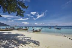 Красивый день на lipe Таиланде koh Стоковая Фотография