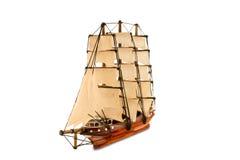 Красивый деревянный корабль Стоковое Изображение RF