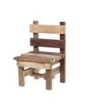 Красивый деревянный стул Стоковые Фото