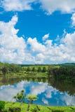 Красивый естественный ландшафт Маврикия стоковое изображение
