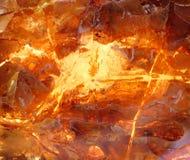 Красивый естественный прибалтийский янтарь Стоковая Фотография