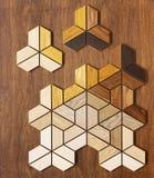 Красивый естественный текстурированный деревянный партер с изображением иллюстрация вектора