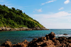 Красивый летний отпуск в пляже Yanui стоковые изображения