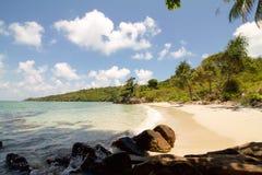 Красивый залив на юге  острова karimunjawa Стоковые Изображения RF
