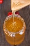 Красивый золотой мед Стоковое Изображение RF