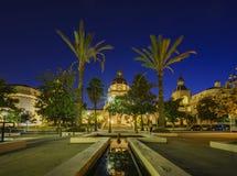 Красивый здание муниципалитет Пасадина около Лос-Анджелеса, Калифорнии Стоковое Фото