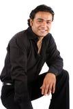 красивый индийский человек Стоковое Изображение