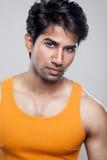 Красивый индийский человек Стоковые Изображения RF