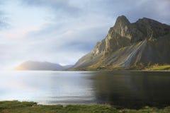 Красивый исландский ландшафт Стоковые Фотографии RF