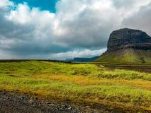 Красивый исландский ландшафт стоковые фото
