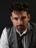 Красивый итальянский человек Стоковое фото RF
