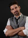Красивый итальянский человек Стоковые Фотографии RF