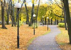 Красивый и сценарный взгляд парка Стоковая Фотография