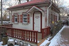 Красивый казацкий музей дома Стоковые Изображения