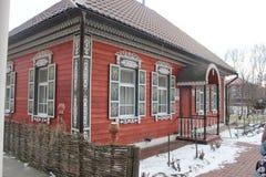 Красивый казацкий памятник дома стоковое изображение rf
