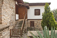 Красивый каменный дом в Турции Стоковые Фотографии RF