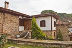 Красивый каменный дом в Турции Стоковое Изображение RF