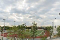 Красивый кампус коллежа города Пасадина Стоковые Изображения RF