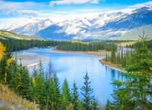 Красивый канадский ландшафт, Альберта, Канада Стоковое фото RF