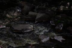 Красивый каньон Fjadrargljufur с рекой и большими утесами Bucky каньон голодает река стоковая фотография rf