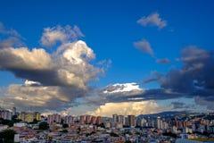 Красивый Каракас на солнечном после полудня стоковое изображение rf