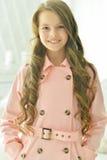 Красивый конец-вверх девочка-подростка Стоковое фото RF